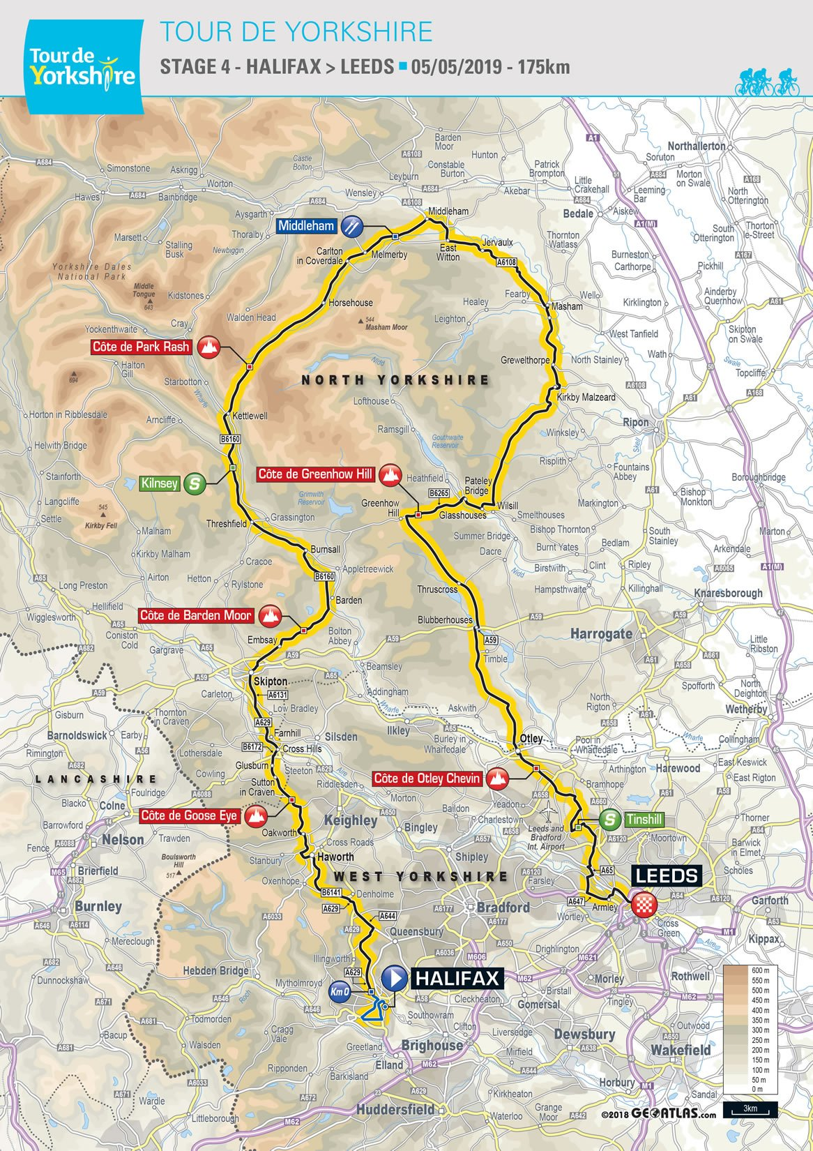 Tour de Yorkshire 2019 routes announced in Leeds | Tour de